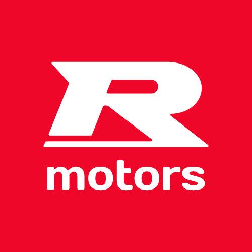 Logo R-Motors w Szczecinie